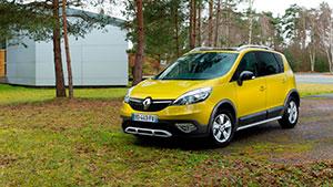 Renault Scenic Xmod, vehículos nuevos