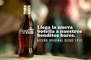 Hostelería española, botella vidrio Coca-Cola